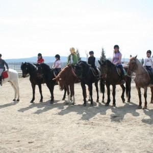 Clases Equitación Niños
