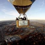 Volar en globo cerca de Aranjuez